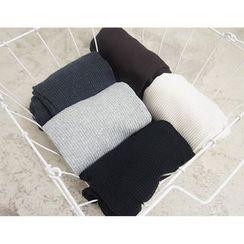 Viana Smile - Maternity Ribbed Knit Leggings