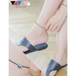 soo n soo - Smile Charm Thread Anklet
