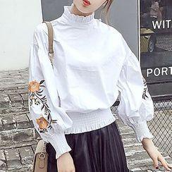 Honeydew - 刺繡襯衫