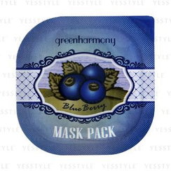 LadyKin - Green Harmony Blueberry Mask Pack