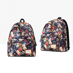 Mr.ace Homme - Floral Nylon Backpack