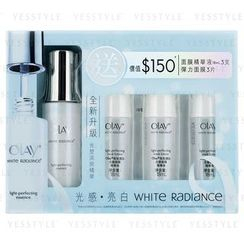Olay - White Radiance Light-Perfecting Set: Essence 30ml x 1 + Mask Lotion 18ml x 3 + Mask x 3