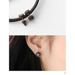 PINKROCKET - Star Wood Earring