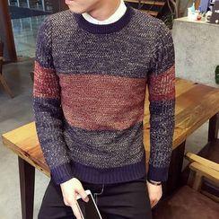Alvicio - Color Block Sweater