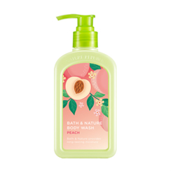 Nature Republic - Bath & Nature Body Wash (Peach) 250ml