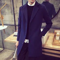 Alvicio - Notched Lapel Coat