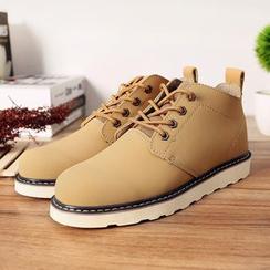 Mrlin - 真皮短靴