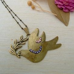 MyLittleThing - Big Big Pigeon Necklace