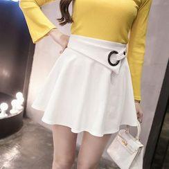 Sienne - High Waist A-Line Skirt