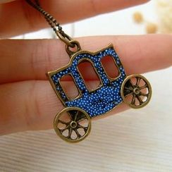 MyLittleThing - Pumpkin Carriage Necklace