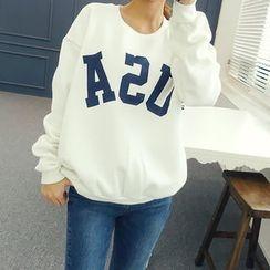 DANI LOVE - Lettering Sweatshirt