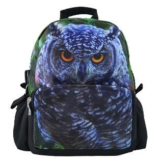 Bistar - Owl Printing Large Zipper 12 inch Backpack