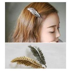 Glamiz - 復古樹葉髮夾