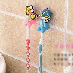 Good Living - Suction Patterned Toothbrush Holder
