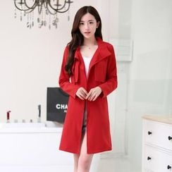 AiSun - Flap Front Trench Coat
