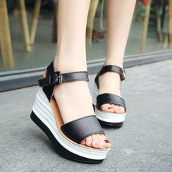 Sunsteps - Platform Wedge Sandals