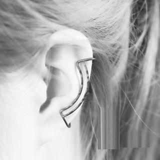 Zentangal - Parallel Arc Ear Cuff