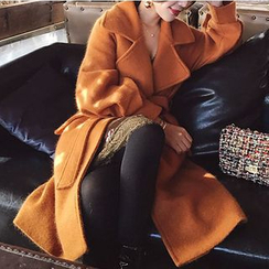 Amella - Tie-Waist Coat