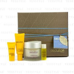 Decleor 思妍麗 - Hydrating Treasure Trove: Hydra Floral Moisturising Cream 50ml + Eye Cream 15ml + Serum 5ml + Night Balm 2.5ml
