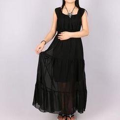 Fashion Street - Tiered Maxi Dress
