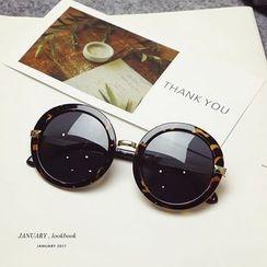 MOL Girl - 圆形太阳眼镜
