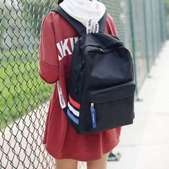 Youme - Striped Backpack