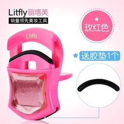 Litfly麗塔芙 - 迷你型睫毛夾 (玫紅)