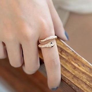 TAIPEI STAR - Rhinestone Snake Ring