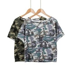 Momewear - Camouflage T-Shirt