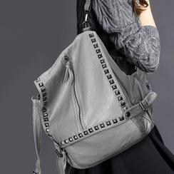 Manipelt - Genuine Leather Studded Backpack