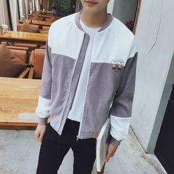 Breeson - Color Block Zip Jacket