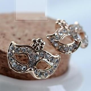 Cuteberry - Rhinestone Mask Studs