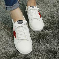 Dodostyle - Star-Appliqué Sneakers
