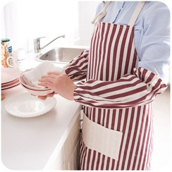 Momoi - Set: Printed Apron + Sleeve Guards