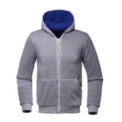 uninukoo - Color Panel Hooded Zip Jacket