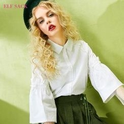 ELF SACK - 3/4-Sleeve Beaded Blouse