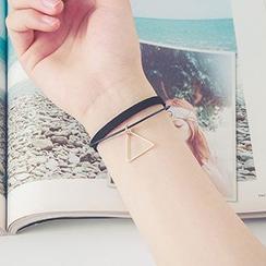 Oohlala! - Layered Pendant Bracelet