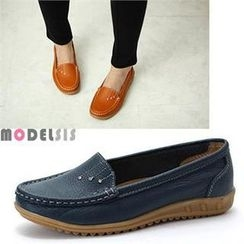 MODELSIS - Faux-Leather Loafers