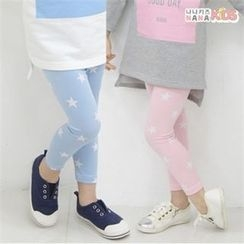 nanakids - Girls Star Pattern Leggings
