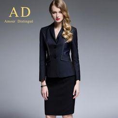 艾尚臣 - 縫線西裝/鉛筆裙/西褲