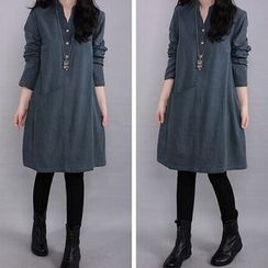 Lovebirds - Long-Sleeve Dress