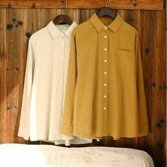 tete - 長袖純色襯衫