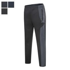 DANGOON - Tow-Tone Brushed-Fleece Lined Sweatpants