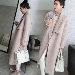 Lovebirds - Snap-Button Long Coat