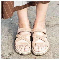 MIAOLV - 多帶露跟涼鞋