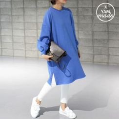 STYLEBYYAM - Balloon-Sleeve Pullover Dress
