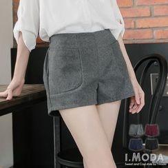 OrangeBear - 3D Cut Tweed Shorts