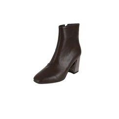 DABAGIRL - Láme Block-Heel Ankle Boots