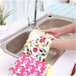 Good Living - Printed Dish Cleaning Cloth