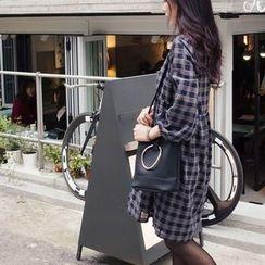 mimi&didi - Plaid Cotton Empire Dress